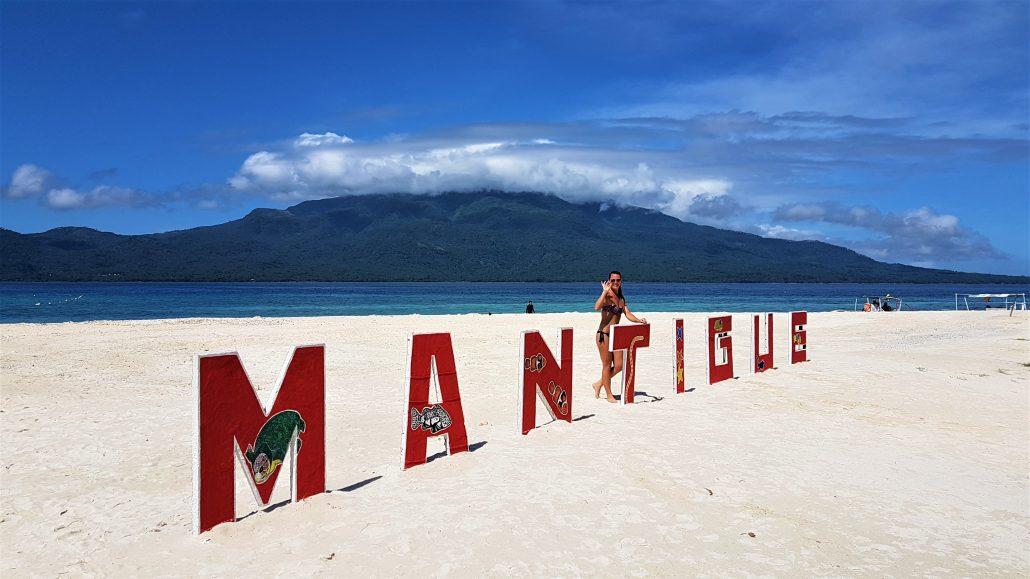 Mantique island uitzicht camiguin