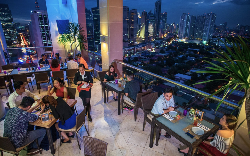 diner with a view makati