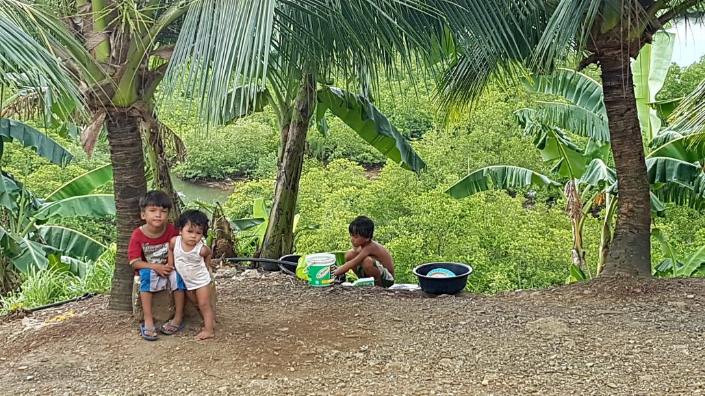 basic living dinagat kids