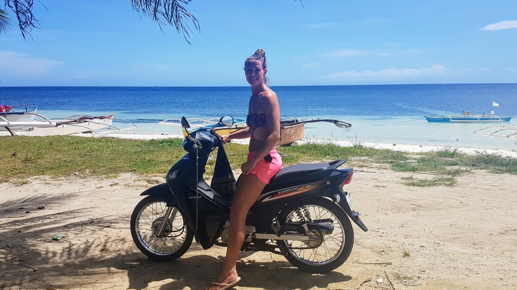 bohol strand scooter
